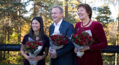 Lan Marie Nguyen (left) Berg, Raymond Johansen and Marianne Borgen all claimed they were proud to introduce radical new policies in Oslo as they laid out their political platform on Monday. PHOTO: Arbeiderpartiet
