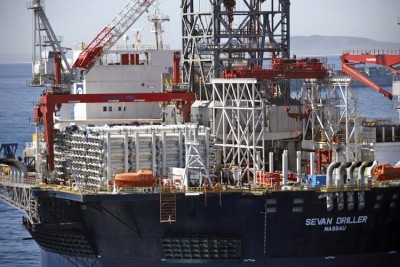 """The 'Sevan Driller,' which became the world's first cylindrical drilling rig to commence operations in 2010, also began a six-year charter to Petrobras, the negotiations for which are now suspected of also involving what Sevan's own law firm calls """"impropert payments to obtain business."""" PHOTO: Sevan Marine"""