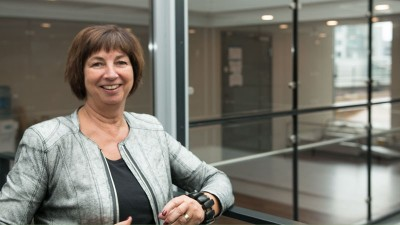 """At an age of 64, Sigrun Vågeng is taking on what's called """"the worst job in Norway,"""" leading the country's unemployment and welfare agency NAV. PHOTO: Arbeids- og sosialdepartementet"""