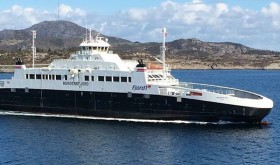 Fjord1 ferries play a vital role in transport along Norway's long coastline. Now another major conflict has erupted over the company's ownership and management. PHOTO: Fjord1