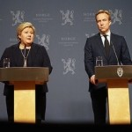 """Prime Minister Erna Solberg said there was """"no reason to doubt"""" IS' claims they had executed Norwegian hostage Ole-Johan Grimsgaard-Ofstad. Foreign Minister Børge Brende called their treatment of their hostages """"disgusting."""" PHOTO: Statsministerens kontor"""