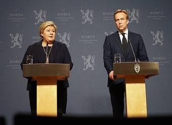 "Prime Minister Erna Solberg said there was ""no reason to doubt"" IS' claims they had executed Norwegian hostage Ole-Johan Grimsgaard-Ofstad. Foreign Minister Børge Brende called their treatment of their hostages ""disgusting."" PHOTO: Statsministerens kontor"