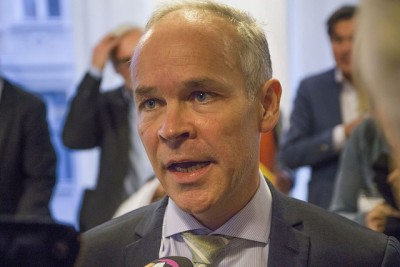 """It's our responsibility"" to accommodate asylum seekers with legitimate need for protection, Jan Tore Sanner said on Wednesday. He's the government minister in charge of local governments, and maintains that all communities around Norway must take in their share of asylum seekers. PHOTO: Kommunal- og moderniseringsdepartementet"