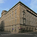 Telenor's old Telegrafbygning opened in 1924 at Kongens gate 21, across the street from the Steen & Strøm department store building. PHOTO: Wikipedia Commons