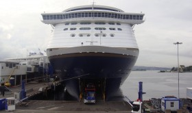All passengers on ferries like Color Line's, arriving from Germany, started being subjected to identity and entry controls on Thursday morning. Border stations in Østfold and Hedmark counties were also stepping up control of all vehicles entering Norway. PHOTO: newsinenglish.no