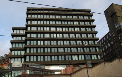 The Løvenskiold brothers have controlled the Anthon B Nilsen firm from this central property adjacent to Oslo's City Hall Plaza. PHOTO: newsinenglish.no