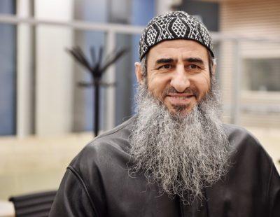 Mullah Krekar was back in court on Thursday, not fighting an extradition order to Italy. PHOTO: Øistein Norum Monsen/Dagbladet