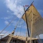 'Kon-Tiki 2' ended with a rescue at sea