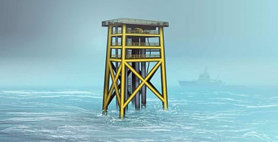 "Statoil's new ""unmanned wellhead"" project is much different from other offshore installations. ILLUSTRATION: Statoil"