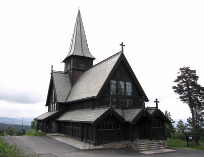 Holmenkollen Chapel, located next to Oslo's Holmenkollen Chapel, was the site of a fatal accident just before Christmas Eve services were due to begin. PHOTO: flickr.com