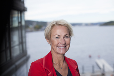 Elisabeth Grieg, head of the shipping and industrial group Grieg International, is one of the top candidates to take over as leader of Telenor's board. PHOTO: YS/Erik Norrud