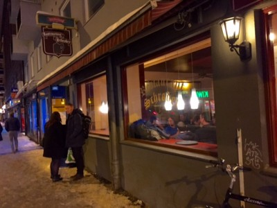 The iconic Oslo restaurant Schrøder will be among the locations used in filming the new movie based on Norwegian author Jo Nesbø's crime novel Snømannen (The Snowman). PHOTO: newsinenglish.no