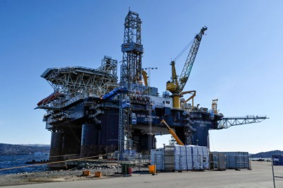 """Odfjell Drilling has been operating the Island Innovator drilling rig and expressed a """"danger"""" of losing work on it. PHOTO: Sjofartsdirektoratet"""