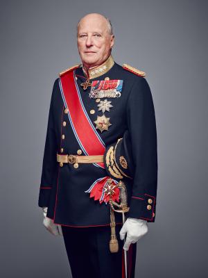 King Harald V