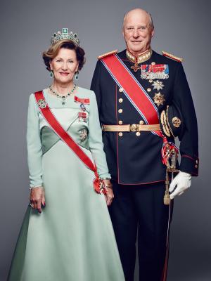 Queen Sonja, King Harald