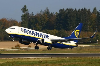 Ryanair won't be taking off from Norway's Rygge Airport in Moss, south of Oslo, after November 1, if the government goes through with a new airline seat tax. PHOTO: Ryanair