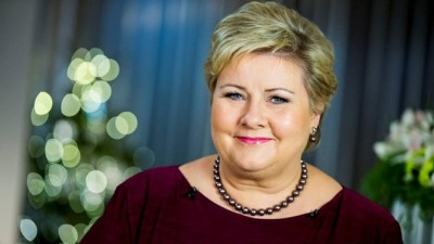 "Prime Minister Erna Solberg stressed the importance of ""everyday integration"" in her own New Year's address to the nation. PHOTO: Statsministerens kontor/Vegard Wivestad Grøtt/NTB Scanpix"