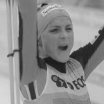 Johaug left rivals in the fog
