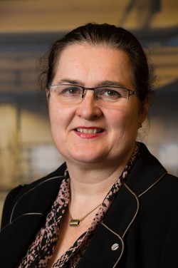 Monica Stubholt is a former state secretary who was involved in Hydro's negotiations with the president of Tajikistan. She later became a member of Hydro's board. Now she won't talk about her role in Hydro's business in Tajikistan. PHOTO: Hydro ASA