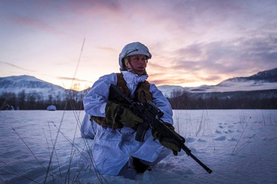 Norwegian forces have been training in Northern Norway during the past week. US military officials have been along and want to train jointly and more often with their Norwegian allies. PHOTO: Forsvaret/Winnefride Steen