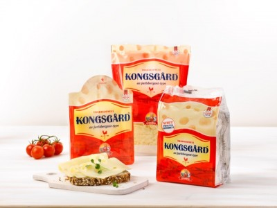 """Synnøve Finden's new """"jarlsberg-type"""" cheese, before the court ruling on Friday. PHOTO: Synnøve Finden"""