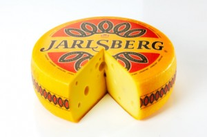 "Tine's ""Jarlsberg"" cheese, which has been a big success in the export market. PHOTO: Tine"
