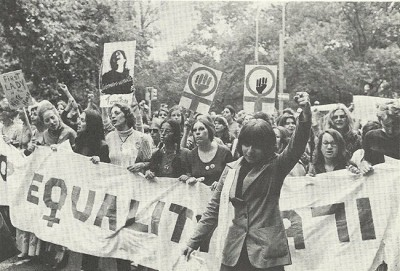 Women in Norway have come a long way from the early days of equality rallies. PHOTO: Wikipedia
