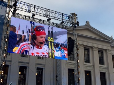 Norwegian biathlon star Tarjei Bø apologized on national TV after failing to secure a gold medal for his relay team at the World Championships in Oslo on Thursday. PHOTO: newsinenglish.no