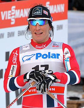 Marit Bjørgen now has her sights set on the World Championships in Lahti next winter. PHOTO: Wikipedia