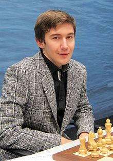Sergey Karjakin was a child chess prodigy like Carlsen was, and is just 10 months older than his Norwegian rival. PHOTO:Wikipedia