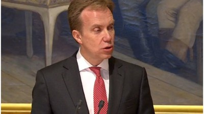 Foreign Minister Børge Brende delivered his annual address to Parliament this week, stressing the seriousness of crises on several fronts. They're forcing some changes in Norway's own foreign policy. PHOTO: Stortinget