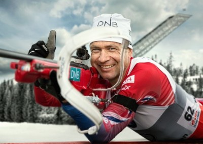 Ole Einar Bjørndalen defied the odds and added two more medals to his already huge stash over the weekend. PHOTO: Biathlon World Championships/Oslo2016
