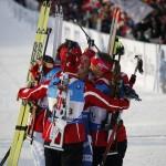 Norway wins gold at Holmenkollen