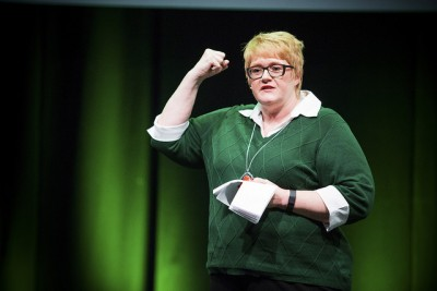 Liberal Party leader Trine Skei Grande shared her dream of a new government coalition over the weekend that would have the Liberals replacing the Progress Party. It was quickly shattered. PHOTO: Venstre/Jo Straube