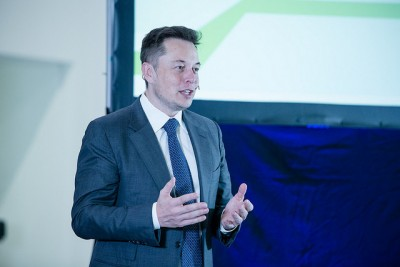 Elon Musk also said he and his team at Tesla have some ideas about how to reduce traffic congestion as well. PHOTO: Samferdselsdepartementet