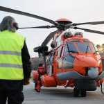 It was an Airbus helicopter like this one that crashed near Bergen on Friday, carrying 11 offshore workers and two crew members on their way back from Statoil's Gullfaks B oil field in the North Sea. All were killed. PHOTO: Airbus Helicopters
