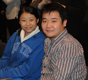 Li Chao and his wife-to-be were willing to postpone their wedding so he could play in Norway Chess. PHOTO: Norway Chess/Dirk Jan ten Guezendam