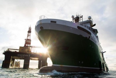 Norway's large fleet of rigs and vessels serving offshore oil fields has been hit hard by the oil price dive. Nearly half the fleet is not in lay-up. PHOTO: Rederiforbundet/Havila