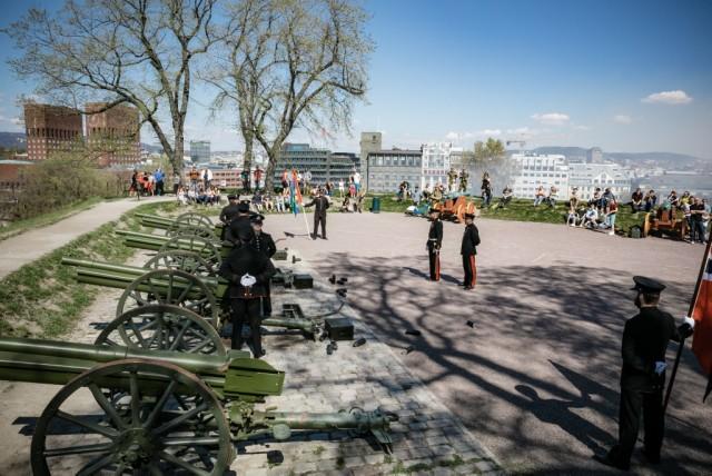 Frigjørings- og veterandagen 2016 på Akershus festning