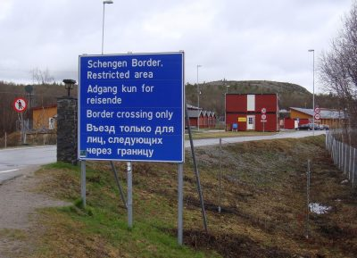 The Norwegian government's plans to build a new high fence extending from the border crossing here at Storskog has sparked lots of criticism. PHOTO: newsinenglish.no/Nina Berglund