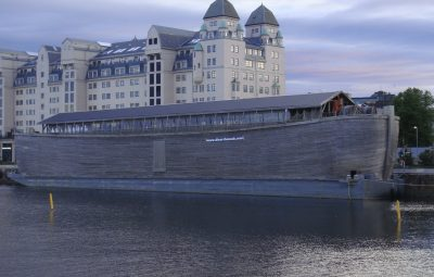 The museum vessel had been tied up at Bjørvika on Oslo's eastern waterfront since early May. It was scheduled to sail on to Sandefjord and later to Fredrikstad this summer. PHOTO: newsinenglish.no