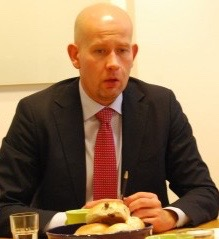Oil Minister Tord Lien is pushing for more oil exploration and production in the Barents, but faces many skeptics and critics. He may even face a lawsuit to block it all. PHOTO: newsinenglish.no