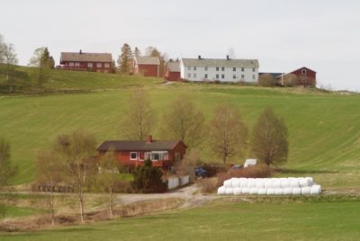 The farmers' representative claimed it was most important to even out differences between small and large farms' support. PHOTO: newsinenglish.no