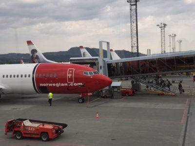 Norwegian Air has had to drop plans to charge customers' credit cards for the cost of the new airline seat tax. PHOTO: newsinenglish.no