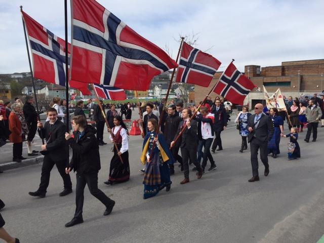 17th of May in Kirkenes