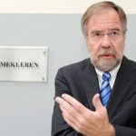 State mediator Nils Dalseide has been a busy man during Norway's annual spring season for labour negotiations. He was getting much of the credit for warding off a major strike by state workers.  PHOTO: Arbeidsdepartementet