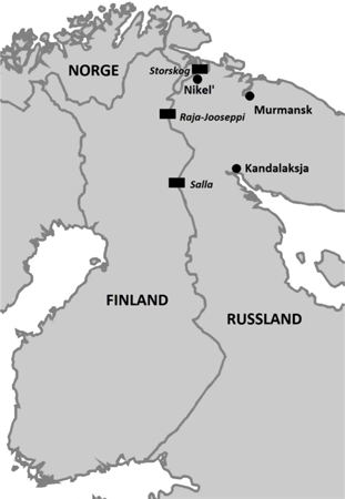 """Two Norwegian researchers think asylum seekers simply chose to use the so-called """"Arctic Route"""" over the Russian-Norwegian border because it was cheaper and less risky than trying to get to Europe in a small boat over the Mediterranean. ILLUSTRATION: Fridtjof Nansens Institutt"""