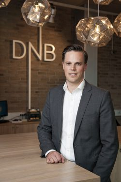 DNB's information director Even Westerveld has had to defend the bank on many fronts in recent months. PHOTO: DNB