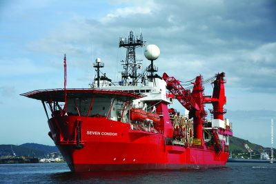 Subsea 7 will also be trimming its fleet of specially designed vessels used in its offshore business. PHOTO: Subsea 7