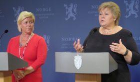 Siv Jensen, Erna Solberg